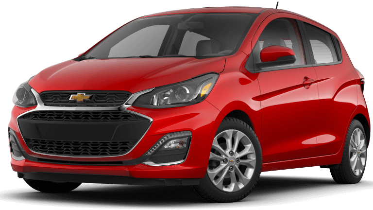 2020 Chevy Spark 1LT in red