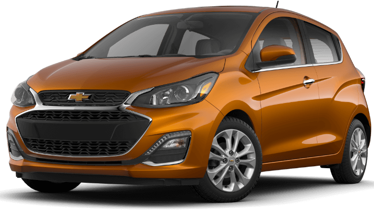 2020 Chevy Spark 2LT in orange