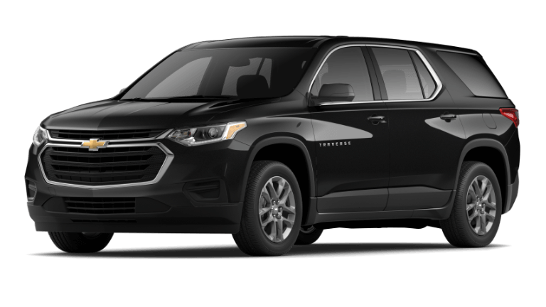 2020 Chevy Traverse L in black