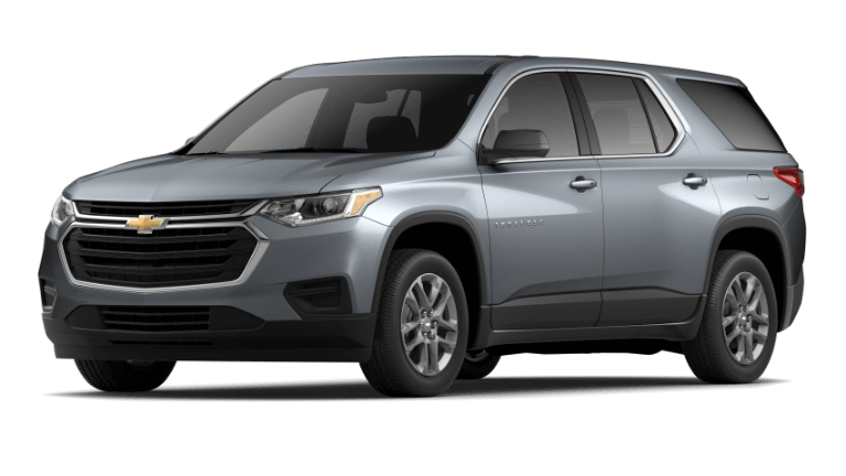 2020 Chevy Traverse LS in gray