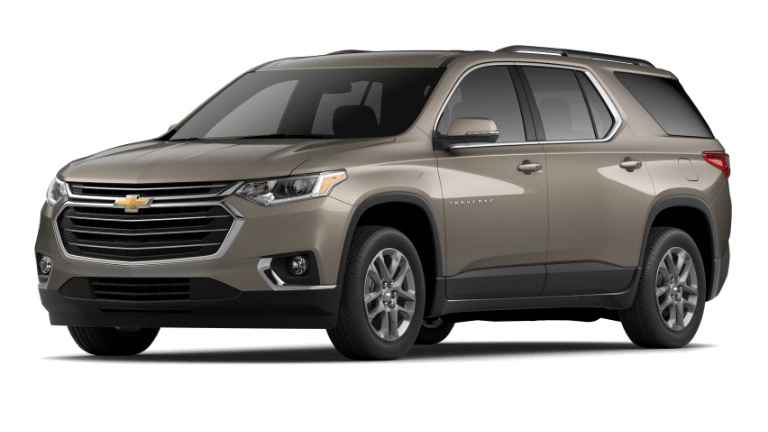 2020 Chevy Traverse LT Leather in gold
