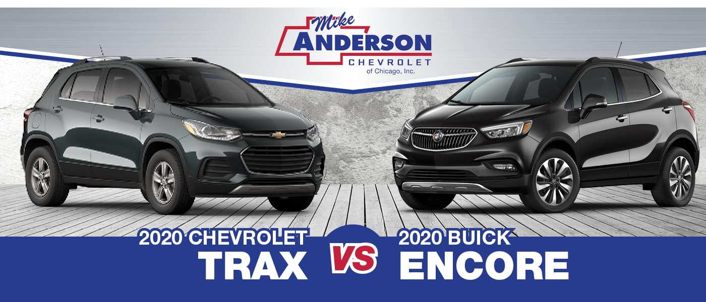 2020 Chevy Trax Vs 2020 Buick Encore Head To Head