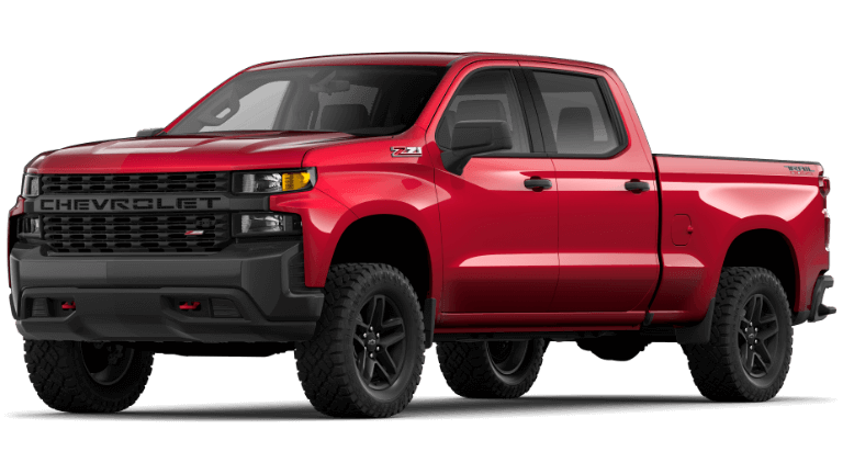 2020 Chevy Silverado1500 Custom Trail Boss in CajunRed
