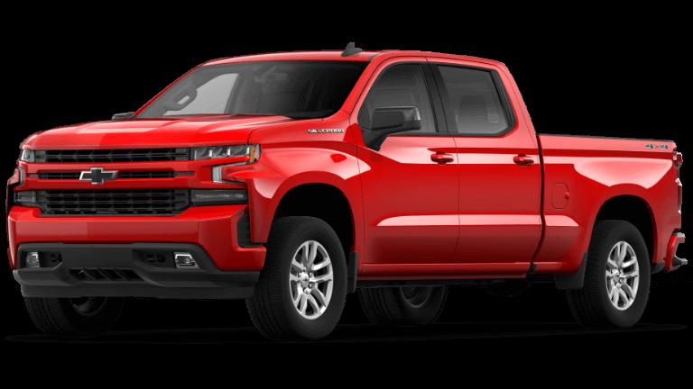 2020 Chevy Silverado 1500 Trims Overview