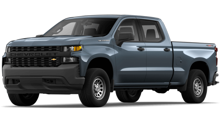 2020 Chevy Silverado1500 WT in ShadowGray