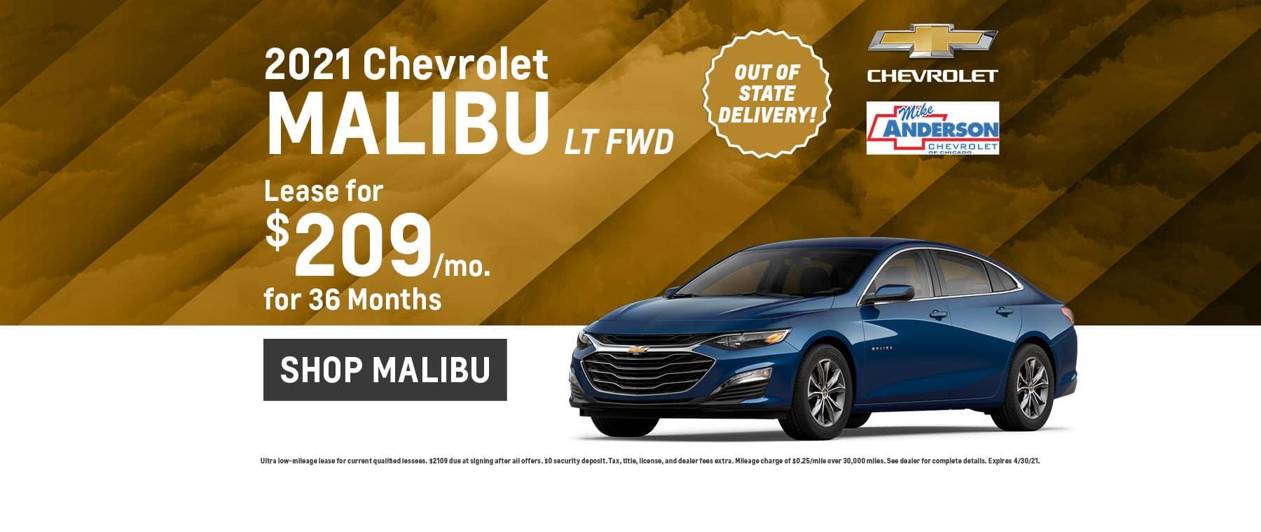2021 Chevrolet Malibu LT FWD