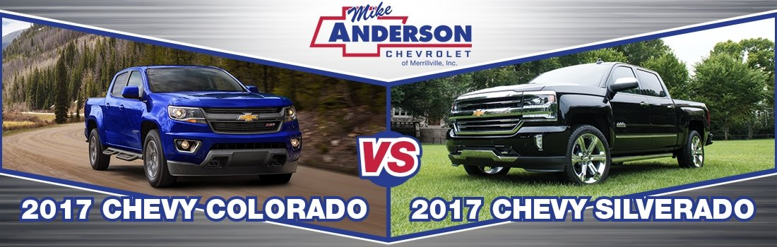 Colorado Vs Silverado