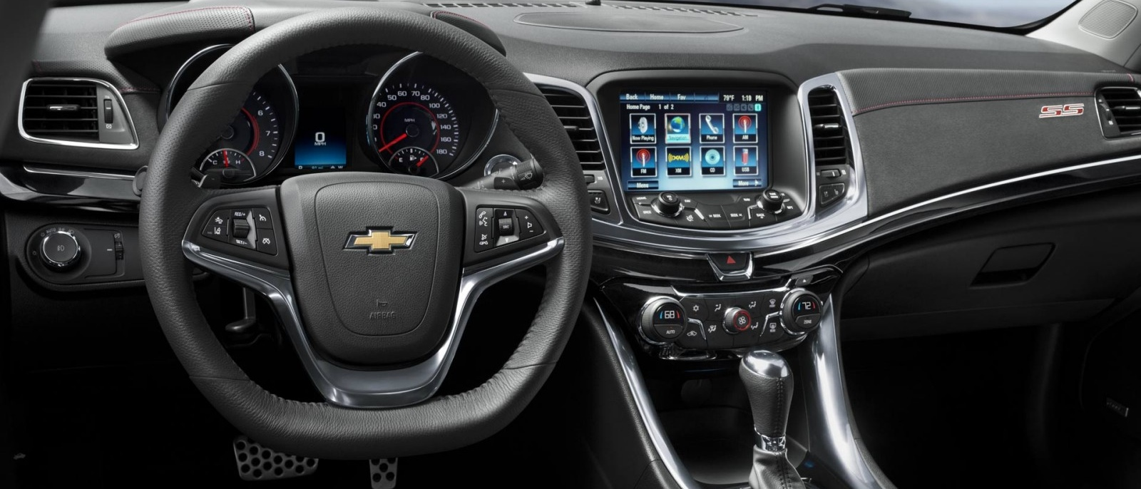 2014 Chevy SS Interior Front Image