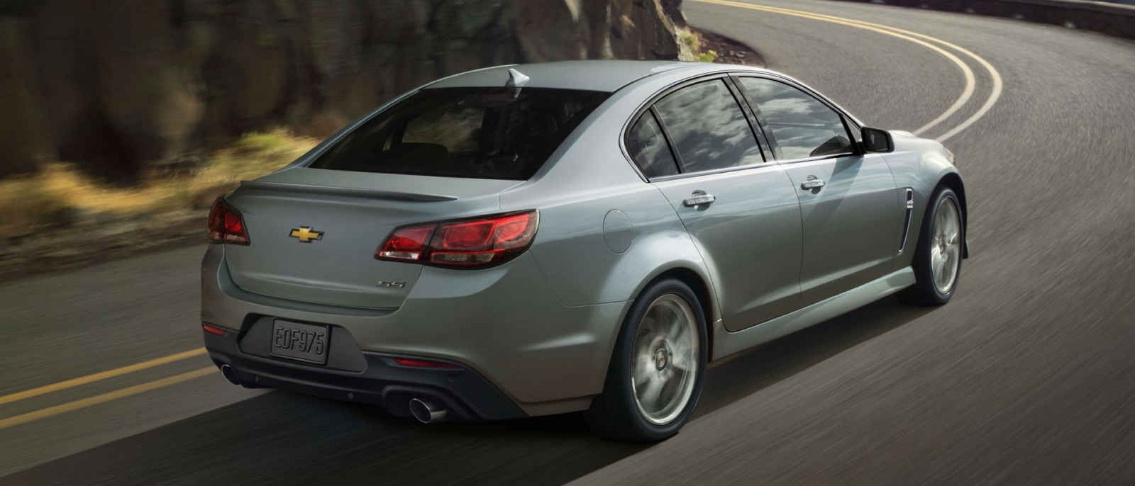 2014 Chevy SS Back Exterior Image