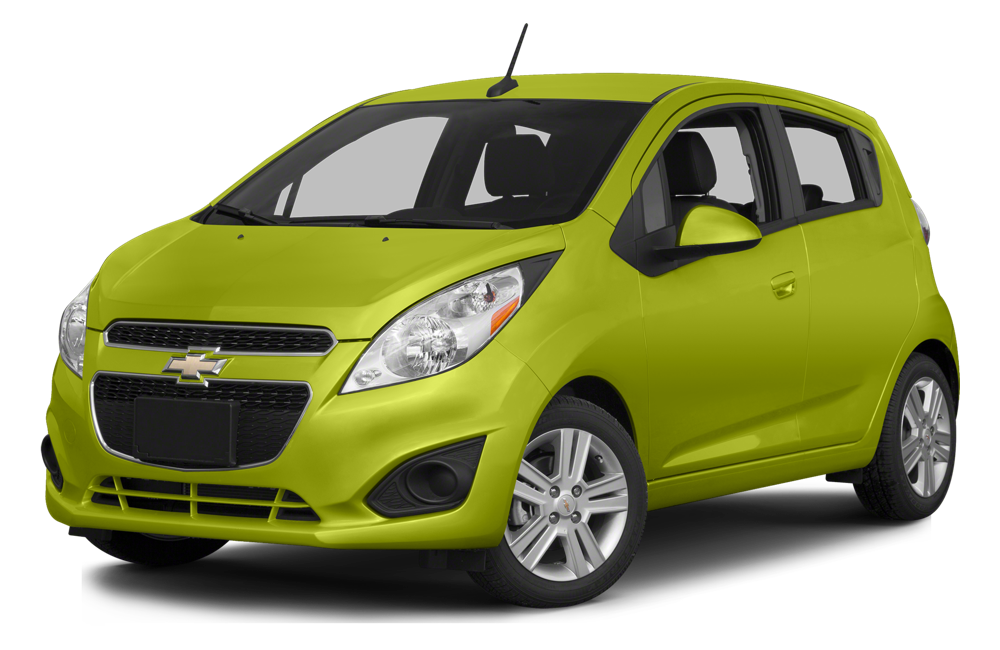 2015 Chevrolet Spark on white bg