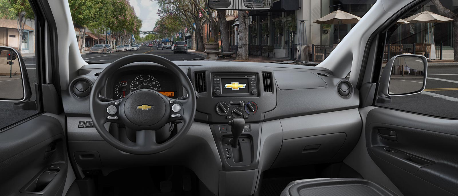 2015 Chevy City Express Interior