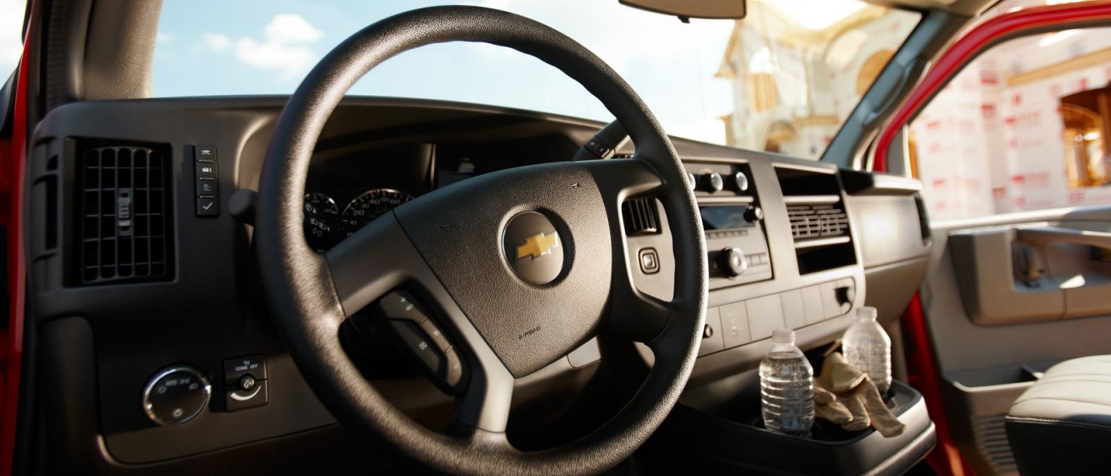 2014 Chevy Express Interior