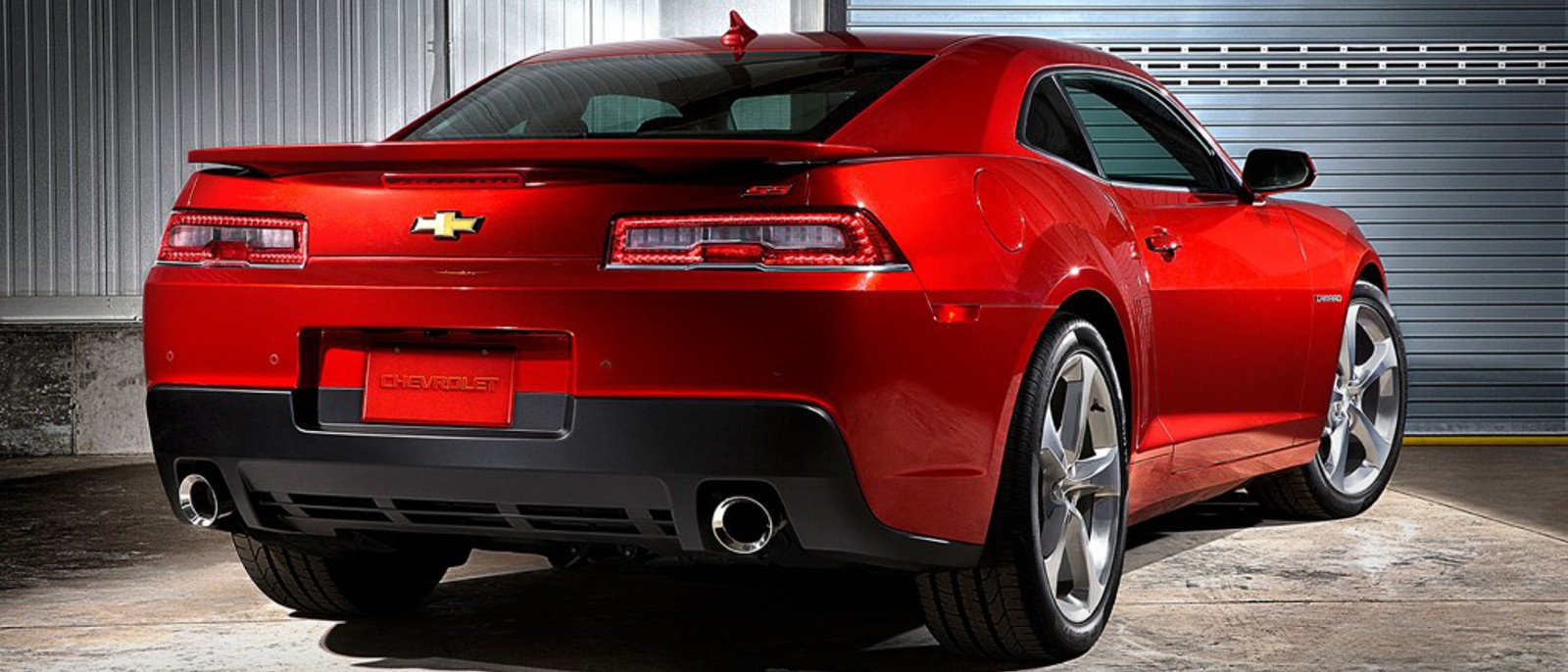 2016 Chevy Camaro rear view