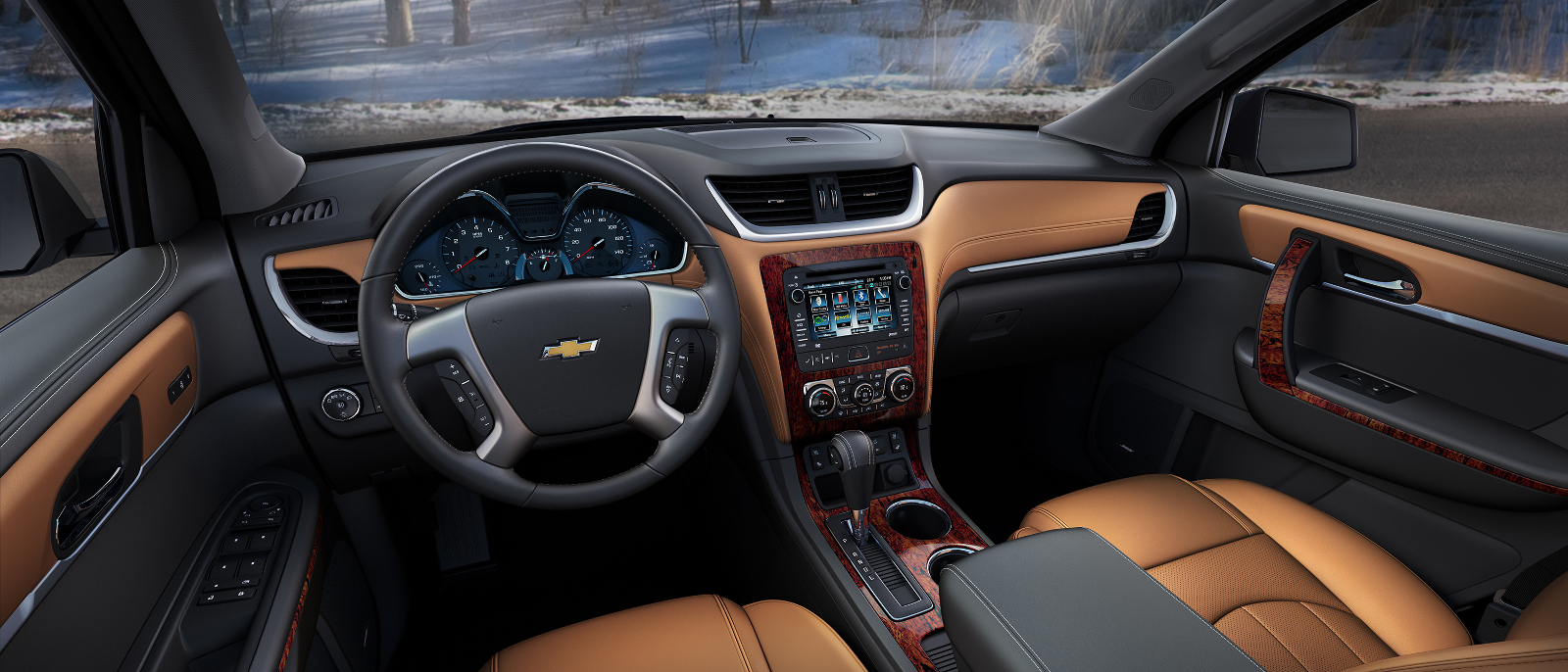 2016 Chevrolet Traverse LTZ Interior