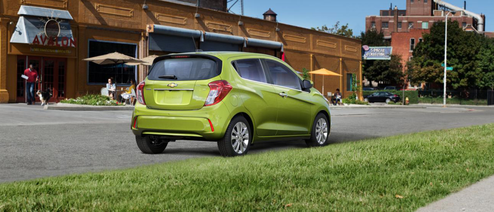2016 Chevrolet Spark profile