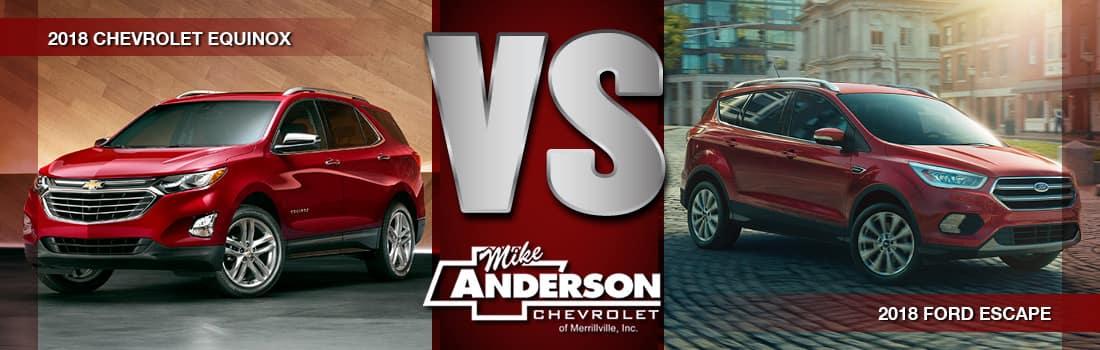 Chevy Equinox vs Ford