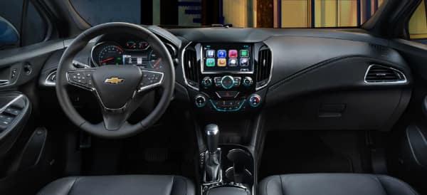 2018 Chevrolet Cruze Interior Driver Panel