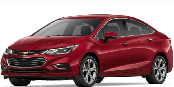 2018 red Chevrolet Cruze