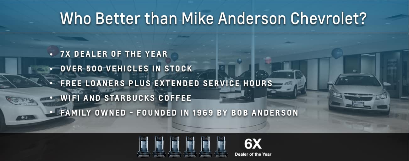 About Us | Mike Anderson Chevrolet of Merrillville