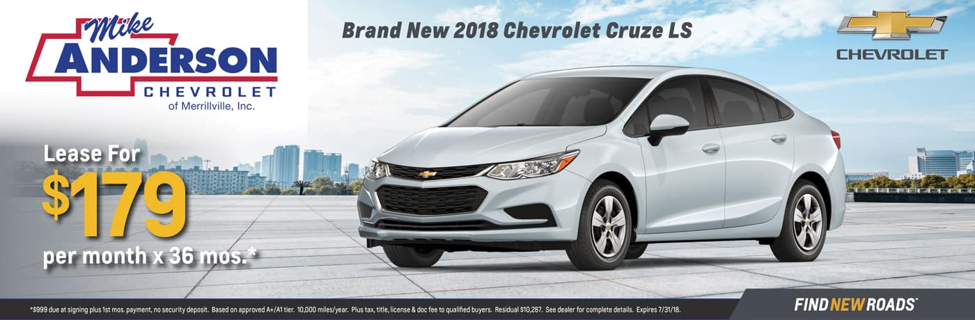 2018 Chevy Cruze LS