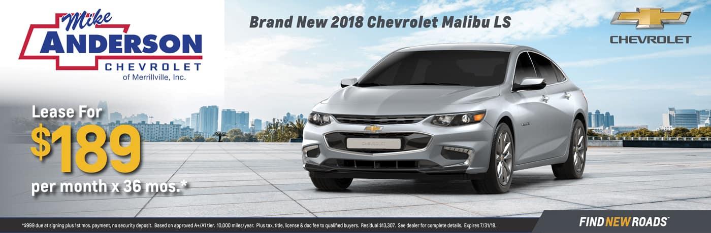 2018 Chevy Malibu LS