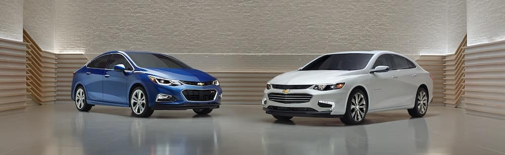 2018 Chevrolet Cruze Trim Differences in Merrillville, IN