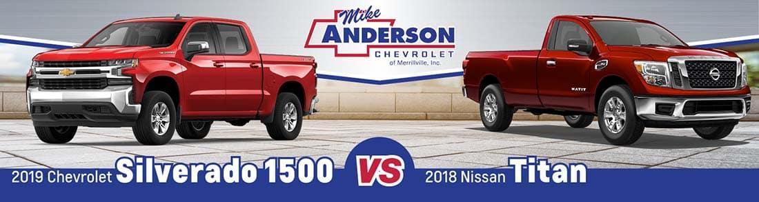 Chevy Silverado 1500 vs. Nissan Titan