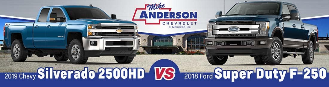 Chevy Silverado 2500HD vs. Ford Super Duty