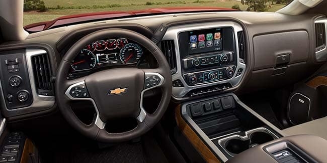 Silverado 2500HD Technology Features