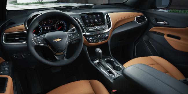 Chevy Equinox Interior Dashboard