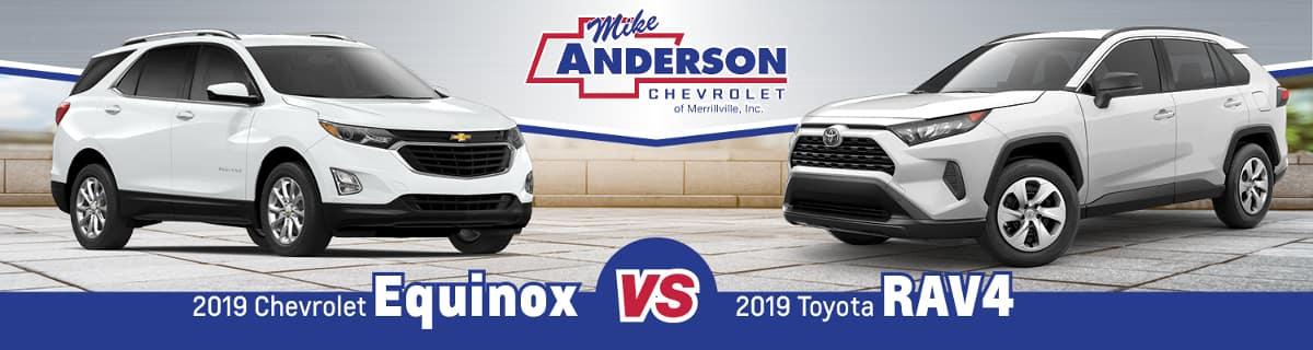 2019 Chevy Equinox vs. 2019 Toyota RAV4