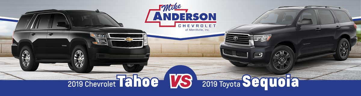 2019 Chevy Tahoe vs. 2019 Toyota Sequoia