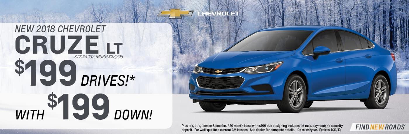 2018 Chevrolet Cuze LT