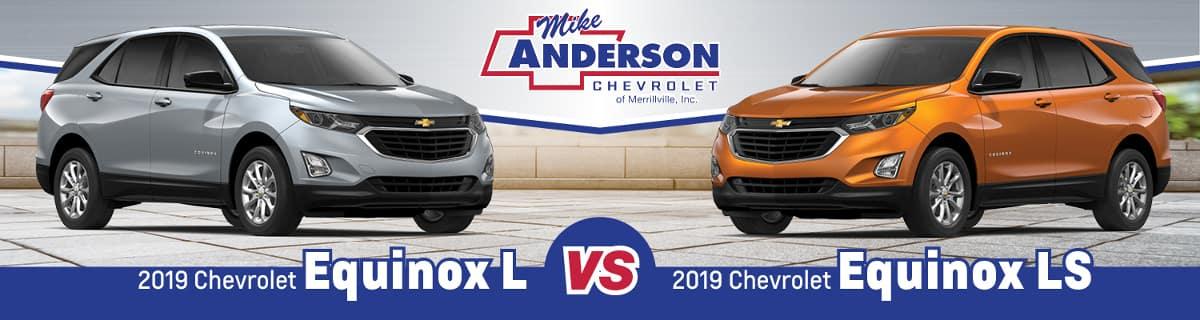 2019 Chevrolet Equinox L vs. Equinox LS