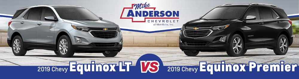 2019 Chevrolet Equinox LT vs. Equinox Premier