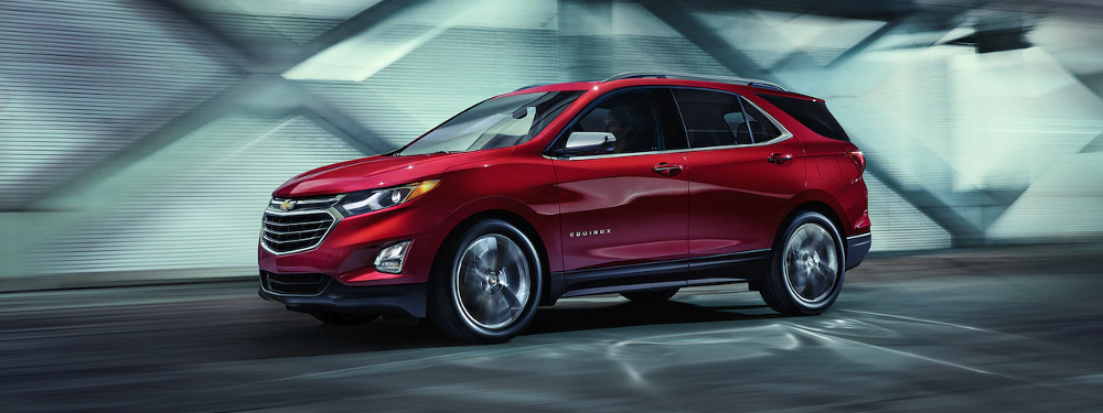2019 Chevrolet Equinox in red side view