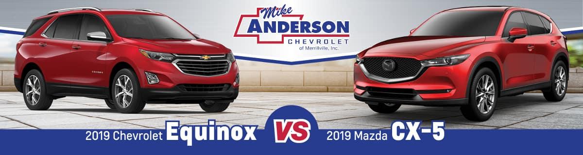 2019 Chevrolet Equinox vs. 2019 Mazda CX-5