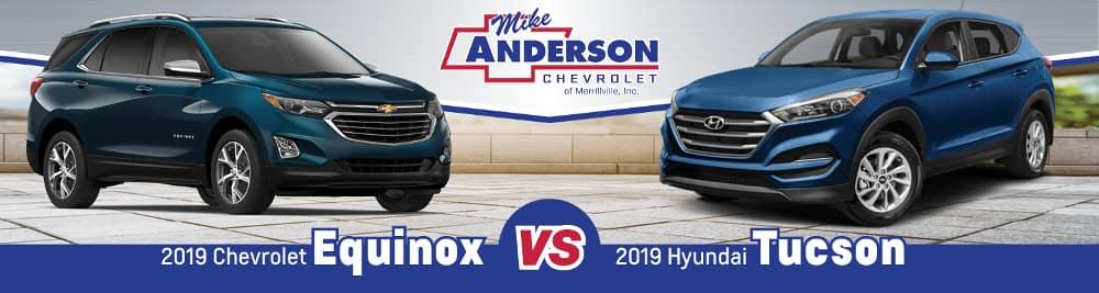 2019 Chevrolet Equinox vs. 2019 Hyundai Tucson