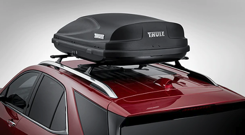 2019 Chevrolet Equinox roof rack compartment