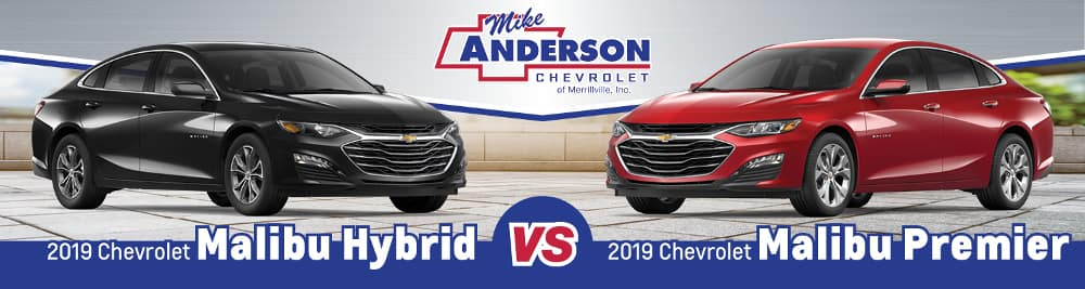 2019 Chevrolet Malibu Hybrid vs. Malibu Premier