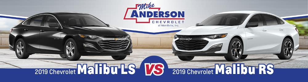 2019 Chevrolet Malibu LS vs. Malibu RS