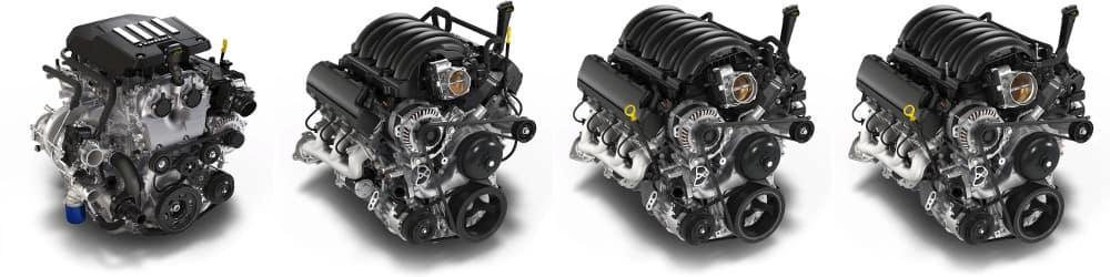 2019 Chevy Silverado Engines