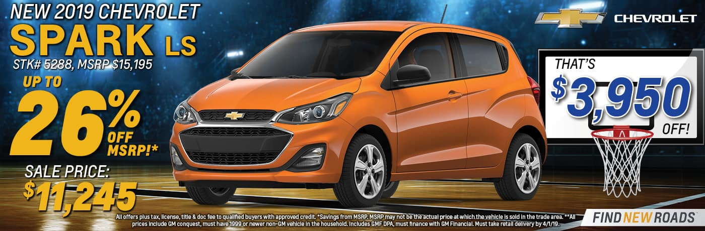 2019 Chevy Spark LS