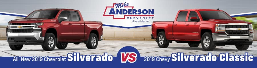 All-New 2019 Chevy Silverado vs. 2019 Chevy Silverado 1500 Classic