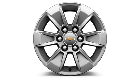 2019 Chevy Silverado wheel