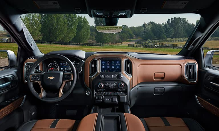 2019 Chevy Silverado 1500 Interior Dashboard