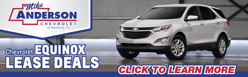 2019 Chevy Equinox Lease Deals banner