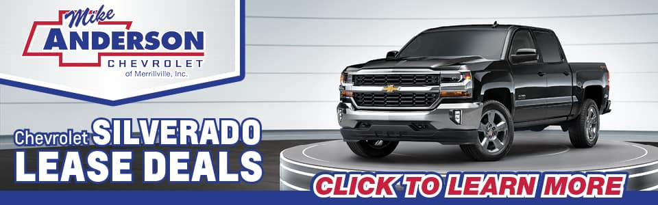 2019 Chevy Silverado 1500 Lease Deals banner