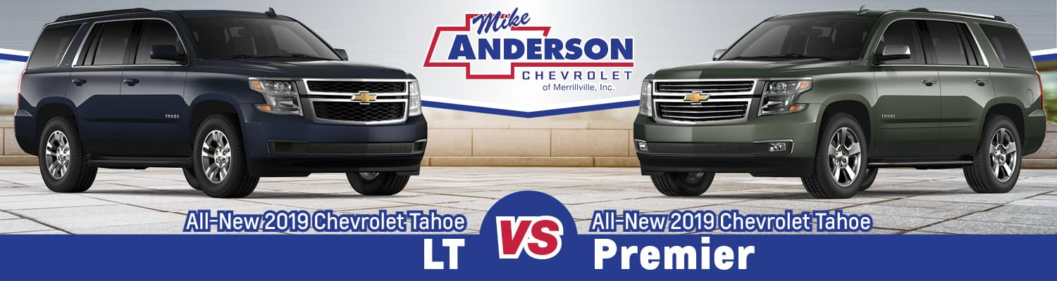 2019 Chevy Tahoe Lt Vs Premier Key Differences Mike Anderson