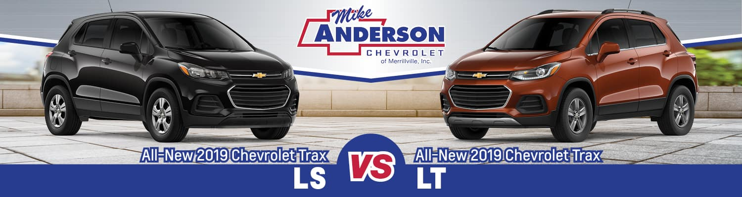 Chevy Trax Ls Vs Lt Trim Comparison Near Schererville In